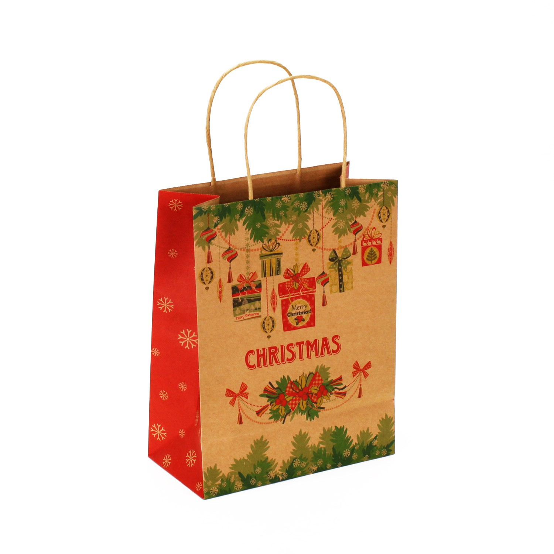 Papiertüte Christmas Päckchen