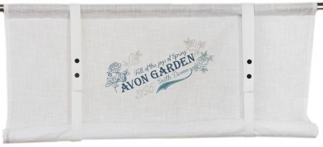 Raffgardine Avon Garden 140×100