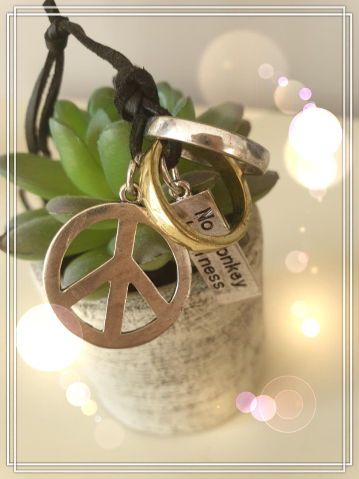 "Kette ""Peace"""