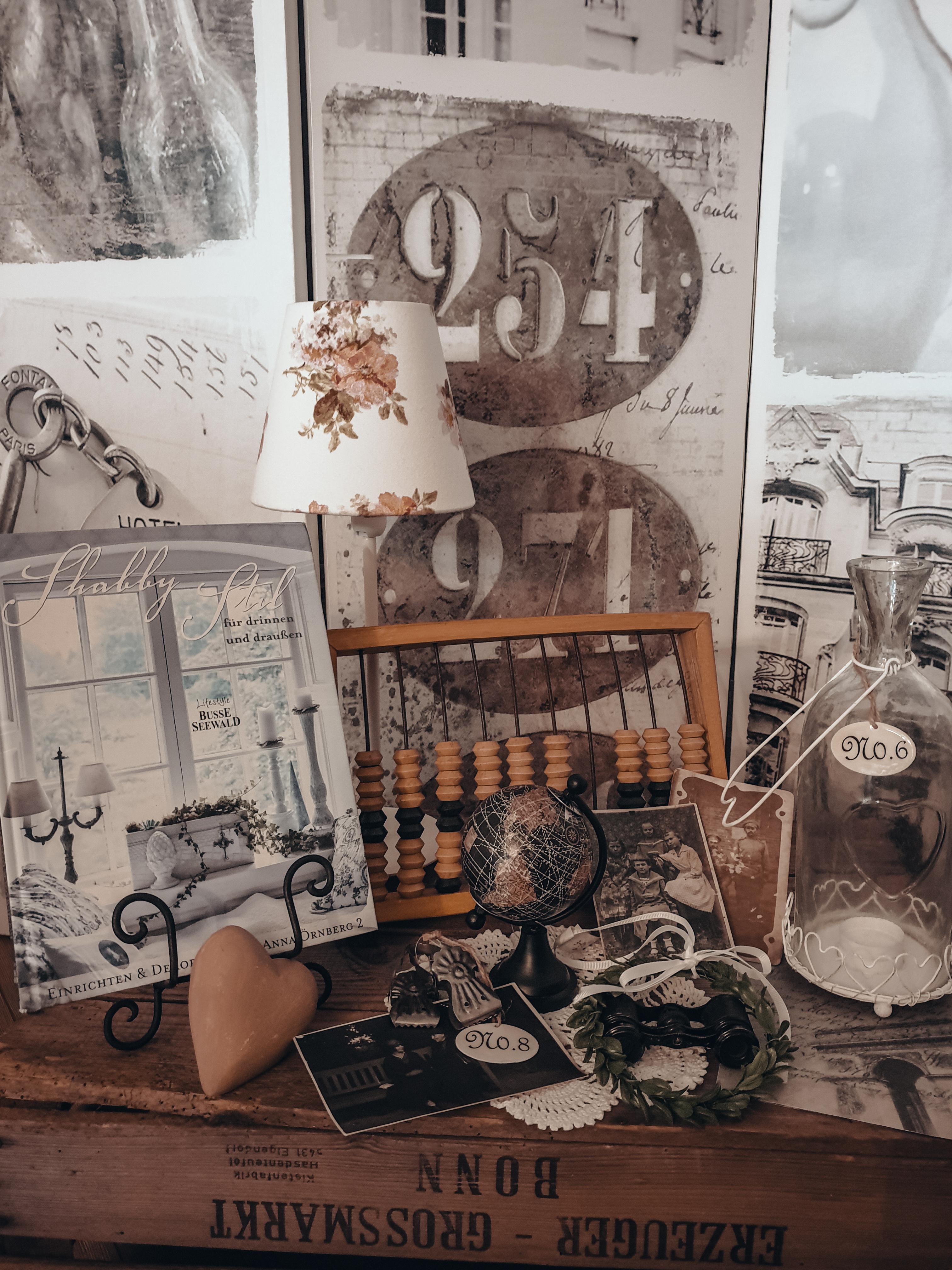 Shabby Chic Antikes Vintage Deko Set 3