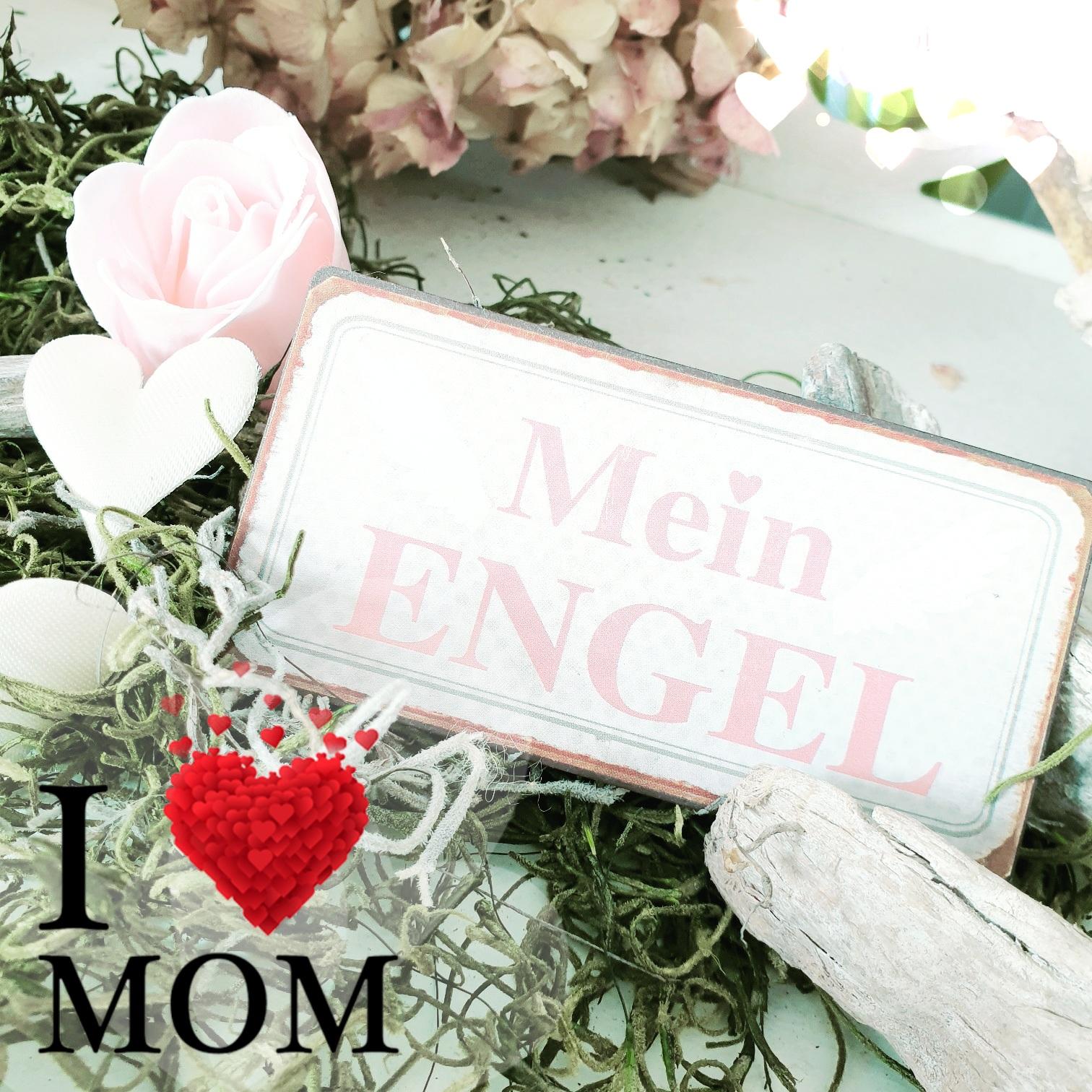 """Kühlschrank Magnet """"Mein Engel"""""""